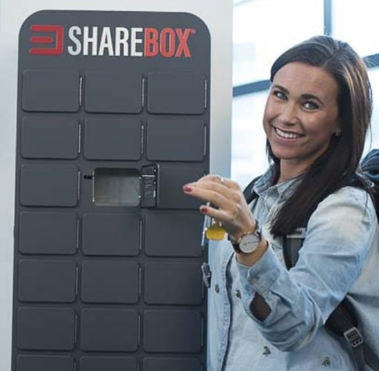 Request a Sharebox cabinet in your store